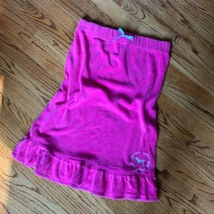Victoria's Secret PINK Beach Bath Towel Sz XS S